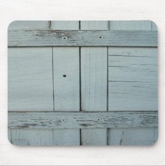 White Wood Mousepad