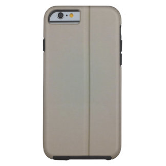 White wood wall tough iPhone 6 case