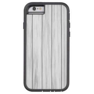 White wooden wall texture tough xtreme iPhone 6 case