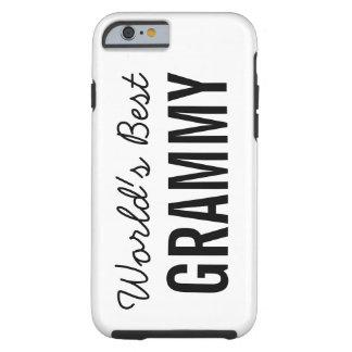 White World's Best Grammy Custom iPhone 6 Tough iPhone 6 Case