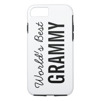 White World's Best Grammy Custom iPhone 7 iPhone 7 Case