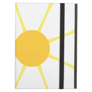 White & Yellow Daisy Flower iPad Air Covers