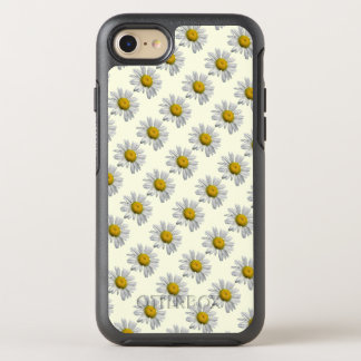 White Yellow Daisy Flowers Floral OtterBox Symmetry iPhone 8/7 Case