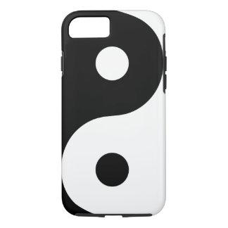 White Yin Yang Phone Case