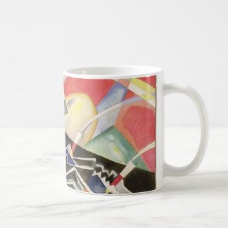 White Zig-Zags, 1922 Coffee Mug