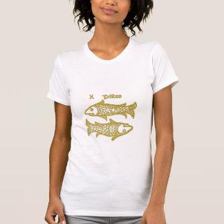 White Zodiac Sign Piscis t-shirt Shirt