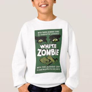 White Zombie Vintage Film Poster Sweatshirt