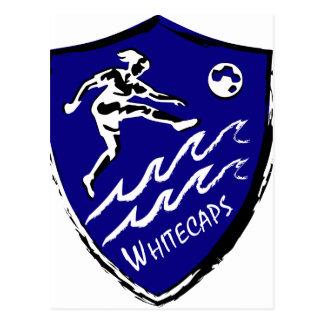Whitecaps Women's Soccer team Postcard
