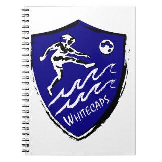 Whitecaps Women's Soccer team Spiral Notebook