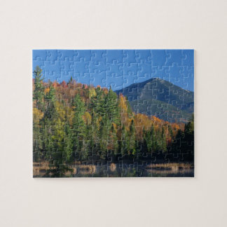 Whiteface Mountain over Little Cherrypatch Pond Jigsaw Puzzle