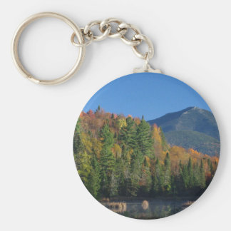 Whiteface Mountain over Little Cherrypatch Pond Key Ring