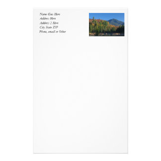 Whiteface Mountain over Little Cherrypatch Pond Stationery