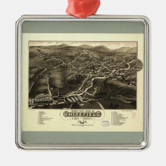 Whitefield, Coos County, New Hampshire (1883) Christmas Ornament