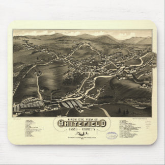 Whitefield, Coos County, New Hampshire (1883) Mouse Pad