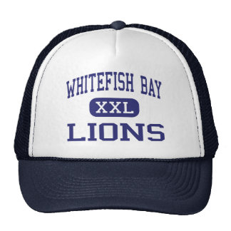 Whitefish Bay Lions Middle Milwaukee Mesh Hats