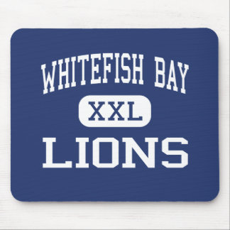 Whitefish Bay Lions Middle Milwaukee Mousepad