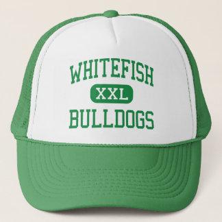 Whitefish - Bulldogs - High - Whitefish Montana Trucker Hat