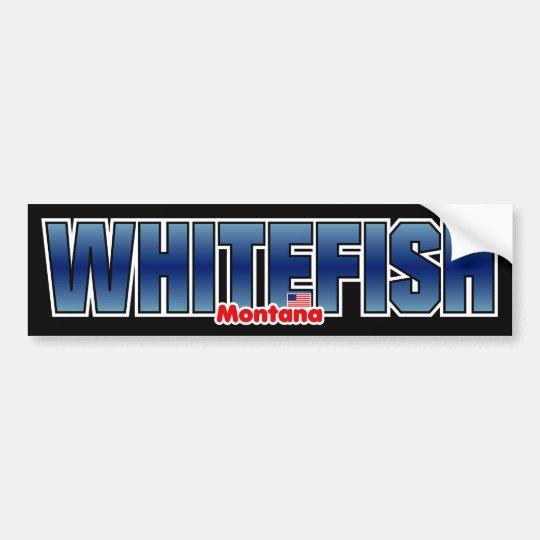 Whitefish Bumper Bumper Sticker