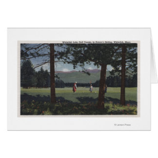 Whitefish, Montana - Whitefish Lake Golf Course Card