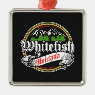 Whitefish Old Circle Christmas Ornament
