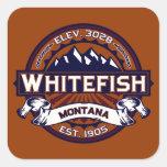 Whitefish Vibrant Sticker