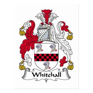 Whitehall Family Crest Postcard