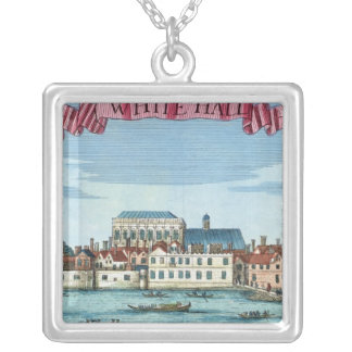 Whitehall from 'A Book of the Prospects Square Pendant Necklace