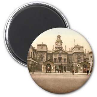 Whitehall - Horse Guards, London, England 6 Cm Round Magnet