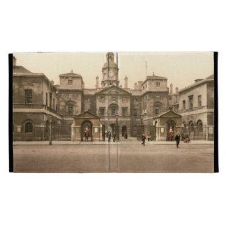Whitehall Horse Guards London England iPad Folio Case