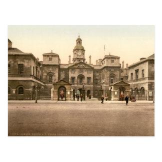 Whitehall - Horse Guards, London, England Postcard