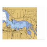 Whitehall, MI Nautical Harbour Chart