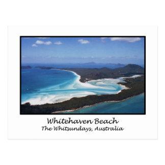 Whitehaven Beach, The Whitsundays, Australia Postcard