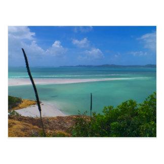 Whitehaven island post card