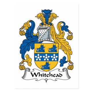 Whitehead Family Crest Postcard