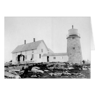 Whitehead Lighthouse Greeting Card