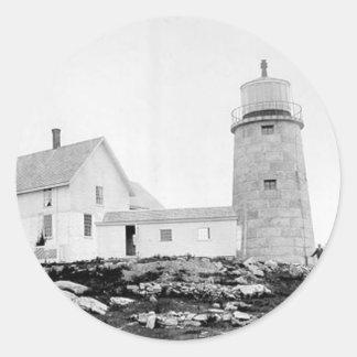 Whitehead Lighthouse Round Sticker