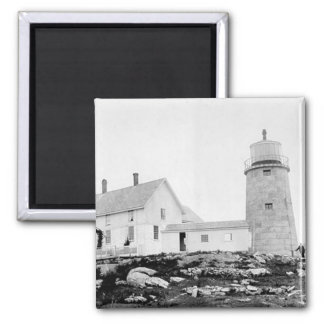 Whitehead Lighthouse Square Magnet