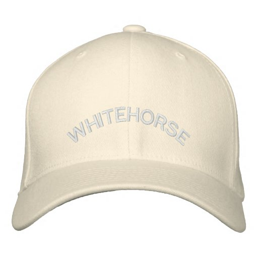Whitehorse Baseball Cap Embroidered Canada Cap