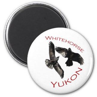 Whitehorse, Yukon 6 Cm Round Magnet