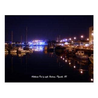 Whitehouse Pier Barbican Plymouth postcard