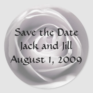 Whiteness, Save the Date Sticker