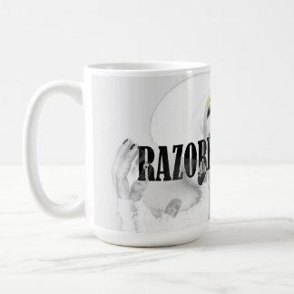 """""""Whiteout"""" RazorBladeJake Mug"""