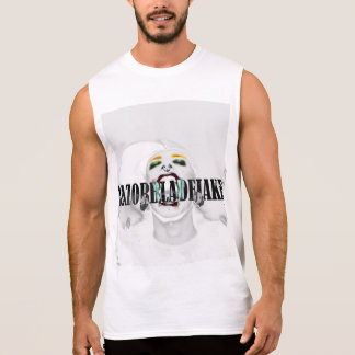 """Whiteout"" RazorBladeJake White Tank Top"