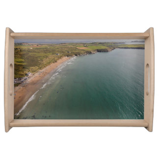 Whitesands Bay Beach Wales Serving Tray