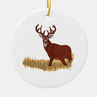 Whitetail Deer Christmas Ornament