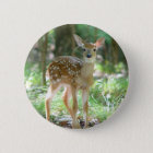 Whitetail Deer Fawn Button