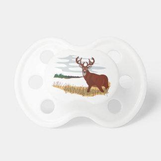 Whitetail Deer Scene Pacifiers