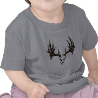 Whitetail deer skull 1 t shirt