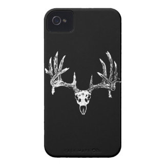 Whitetail deer skull w iPhone 4 case