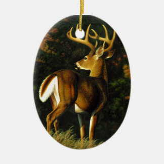 Whitetail Deer Trophy Buck Hunting Christmas Ornament